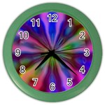Bounty_Flower-161945 Color Wall Clock