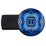bluerings-185954 USB Flash Drive Round (2 GB)