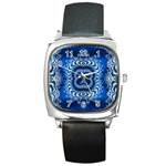 bluerings-185954 Square Metal Watch