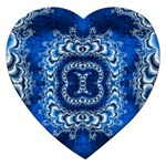 bluerings-185954 Jigsaw Puzzle (Heart)