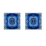 bluerings-185954 Cufflinks (Square)
