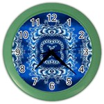 bluerings-185954 Color Wall Clock
