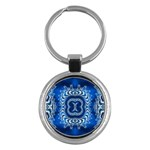 bluerings-185954 Key Chain (Round)