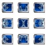 bluerings-185954 Mega Link Italian Charm (9 pack)