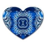 bluerings-185954 Mousepad (Heart)