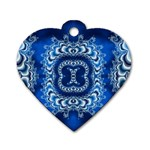 bluerings-185954 Dog Tag Heart (Two Sides)