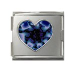 blue%20design%20wave%202-662985 Mega Link Heart Italian Charm (18mm)