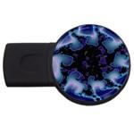 blue%20design%20wave%202-662985 USB Flash Drive Round (1 GB)