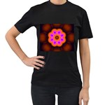 Astral-Reflection-03-515417 Women s Black T-Shirt