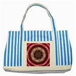tunnel-198165 Striped Blue Tote Bag