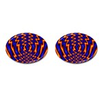 wallpaper%20spumanti%2002-776205 Cufflinks (Oval)