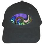 Colorfull_Fractal-215042 Black Cap