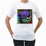 Colorfull_Fractal-215042 Women s T-Shirt