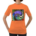 Colorfull_Fractal-215042 Women s Dark T-Shirt