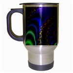 Colorfull_Fractal-215042 Travel Mug (Silver Gray)