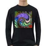 Colorfull_Fractal-215042 Long Sleeve Dark T-Shirt