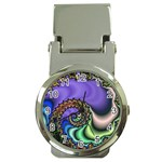 Colorfull_Fractal-215042 Money Clip Watch