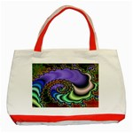 Colorfull_Fractal-215042 Classic Tote Bag (Red)