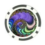 Colorfull_Fractal-215042 Poker Chip Card Guard