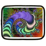 Colorfull_Fractal-215042 Netbook Case (Large)