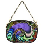 Colorfull_Fractal-215042 Chain Purse (One Side)