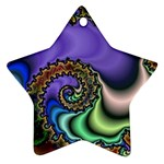 Colorfull_Fractal-215042 Ornament (Star)