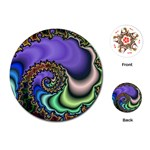 Colorfull_Fractal-215042 Playing Cards (Round)