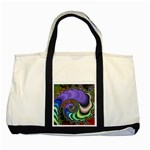 Colorfull_Fractal-215042 Two Tone Tote Bag