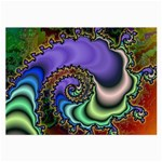 Colorfull_Fractal-215042 Glasses Cloth (Large, Two Sides)