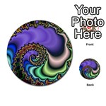 Colorfull_Fractal-215042 Multi-purpose Cards (Round)