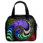 Colorfull_Fractal-215042 Classic Handbag (Two Sides)