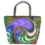 Colorfull_Fractal-215042 Bucket Bag