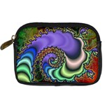 Colorfull_Fractal-215042 Digital Camera Leather Case