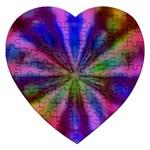 Bounty_Flower-161945 Jigsaw Puzzle (Heart)