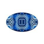 bluerings-185954 Sticker Oval (10 pack)