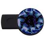 blue%20design%20wave%202-662985 USB Flash Drive Round (1 GB)