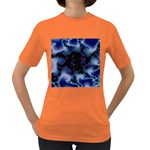 blue%20design%20wave%202-662985 Women s Dark T-Shirt