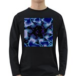 blue%20design%20wave%202-662985 Long Sleeve Dark T-Shirt