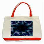 blue%20design%20wave%202-662985 Classic Tote Bag (Red)