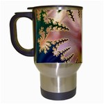abstract-flowers-984772 Travel Mug (White)