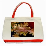 abstract-flowers-984772 Classic Tote Bag (Red)