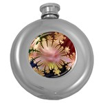 abstract-flowers-984772 Hip Flask (5 oz)