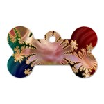 abstract-flowers-984772 Dog Tag Bone (One Side)