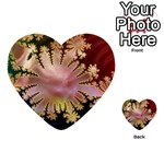 abstract-flowers-984772 Multi-purpose Cards (Heart)