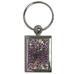 abstract_formula_wallpaper-387800 Key Chain (Rectangle)