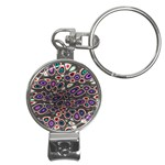 abstract_formula_wallpaper-387800 Nail Clippers Key Chain