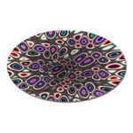 abstract_formula_wallpaper-387800 Magnet (Oval)