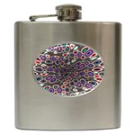 abstract_formula_wallpaper-387800 Hip Flask (6 oz)