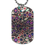 abstract_formula_wallpaper-387800 Dog Tag (Two Sides)