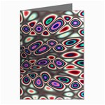 abstract_formula_wallpaper-387800 Greeting Cards (Pkg of 8)